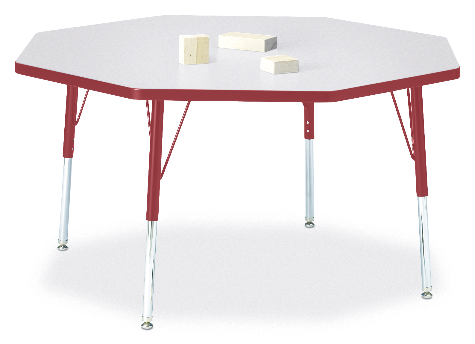 Berries round activity table 48 diameter mobile for Mobile furniture