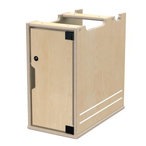 TrueModern® Lockable Computer Bay
